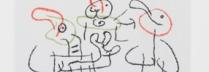 「バレアス諸島のユビュ」 -UBU Aux Baleares- カラー石版(リトグラフ)/直筆サイン入
