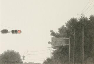 阪本トクロウ 「呼吸」 20×25 デッサン 鉛筆