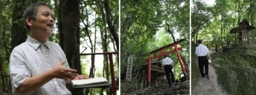 京都にて(山口和也 撮影)